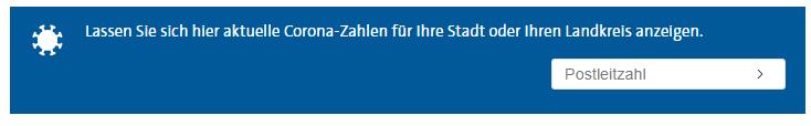 Ein Screenshot der Corona-Infobox auf tagesschau.de