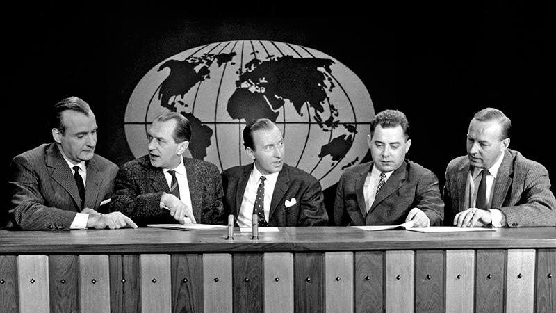 Die ersten tagesschau-Sprecher 1956